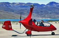 Autogyro Calidus - this model was launched in 2009.