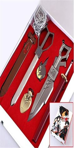 Vicwin-One Akame Ga Kill Pendants Necklaces Cosplay (a Set of Six) *** You can get additional details at the image link.