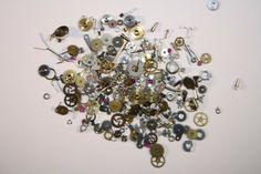 Steampunk Pieces | She Sells Seashells #nails #nailart
