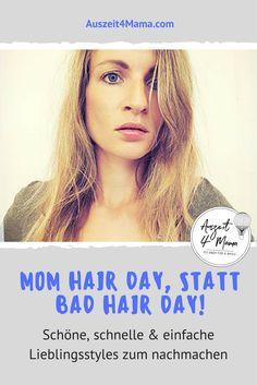 Schnelle und einfache Frisuren Tricks, wenns morgens schnell gehen muss