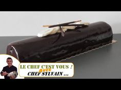 La bûche chocolat banane par Chef Sylvain - Recettes de Noël - YouTube