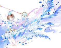 Cardcaptor Sakura, Magical Girl, All Anime, Manga Anime, Inuyasha Fan Art, Xxxholic, Card Captor, Clear Card, Anime Angel