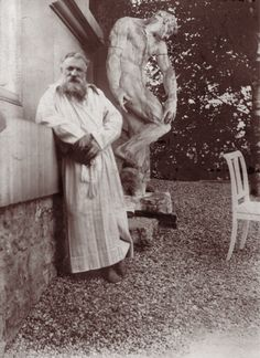 Auguste Rodin photograph