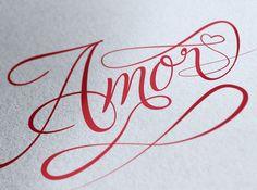 lettering Amor - Buscar con Google