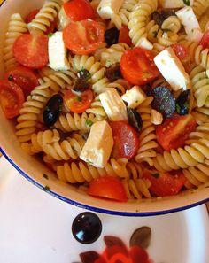 Salada de Massa Grega 7 Dias com a Bimby MAFALDA SILVA