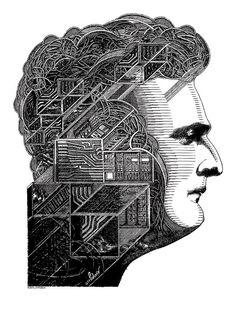 Circuit of My Mind - Art Poster Screen Printer, White Art, Circuit, Mindfulness, Artist, Prints, Poster, Artists, Consciousness