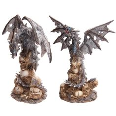 Gothic Skulls Fantasy Dragon Collectable Figurine Our fantasy and gothic dragon range are great entry level collectors items as they are well