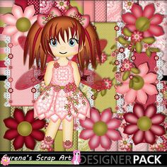 Fairy Rose has arrived! http://www.mymemories.com/store/display_product_page?id=SESA-CP-1407-64056&r=syrenasscrapart