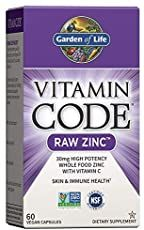 source Foods High In Zinc, Zinc Rich Foods, Organic Blueberries, Organic Fruit, Best Zinc Supplement, Garden Of Life Vitamins, Whole Food Vitamins, Zinc Supplements