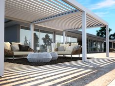 Pergola Ideas For Patio Info: 9931066673 Outdoor Decor, Modern Pergola, Outdoor Living, House Exterior, Outside Room, Exterior Design, Outdoor Design