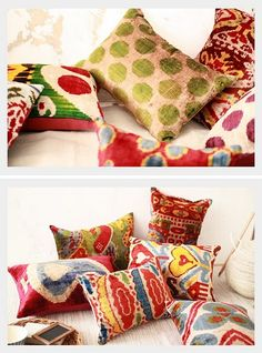 I love these! Mum and I always found THE prettiest pillows at Turkish markets. <3