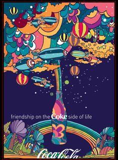 coke by peter max. love itttttt
