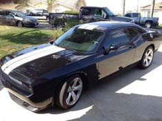 2008 Challenger SRT8 .....added the white stripes today
