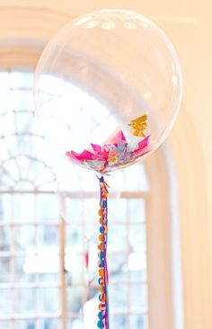 2 Bold is Beautiful Wedding Balloons and Tablescape