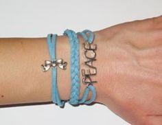 Peace bracelet handmade