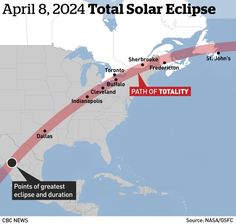 Planning your 2024 eclipse trip? Here are some tips 2024 Eclipse, Total Eclipse, Next Solar Eclipse, Aurora, Hubble Space Telescope, Flat Earth, Our Solar System, To Infinity And Beyond, Holiday Destinations