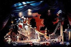 Peter Pan Set, Sword Prop and Scrim Designs
