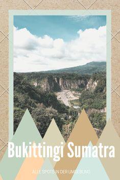 Mitten auf Sumatra verstacket sich Bukittingi samt traumhafter Umgebung. Was dort alles möglich ist? Das lest ihr hier! Rafting, Orang Utan, Roadtrip, Tapestry, Box, Europe, Driving Route Planner, Vacation Package Deals, Indonesia