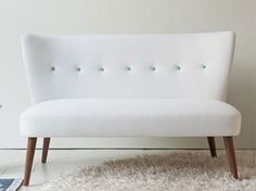 Midcentury-style Julep sofa by the Designers Guild