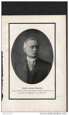 Theodor Herrmann Panthenius - Druck, entnommen aus Velhagen und Klasings…