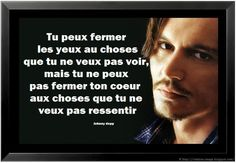 Johnny Depp quote in French Lyric Quotes, True Quotes, Best Quotes, Motivational Quotes, Inspirational Quotes, Citations Regrets, Citations Film, French Poems, French Quotes