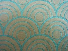 Art Deco fabric, interesting color and pattern for dining room chairs?