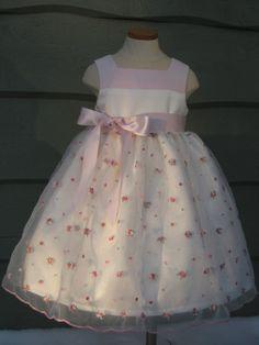Items similar to Flower Girl Dress - Easter Dress - Light Pink - Lavender - Rose Bud - Size Made to Order on Etsy Girls Easter Dresses, Flower Girl Dresses, Summer Dresses, Lavender Roses, Rose Buds, Trending Outfits, Wedding Dresses, Pink, Vintage