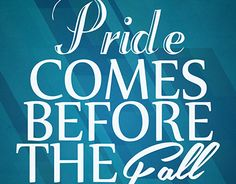 "Check out new work on my @Behance portfolio: ""Pride Before Fall Quote Poster"" http://be.net/gallery/33976502/Pride-Before-Fall-Quote-Poster"