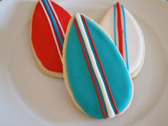 Surfboard Cookies from Auntie Bea's Bakery