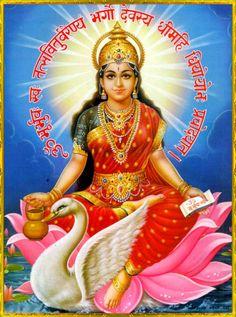 There are four main sects within Hinduism: Shaivism, Vaishnavism, Shaktism, Smartism, in which six main gods are worshiped Gayatri Devi, Gayatri Mantra, Saraswati Goddess, Durga Maa, Saraswati Mata, Shri Mataji, Goddess Art, Shiva Shakti, Divine Mother