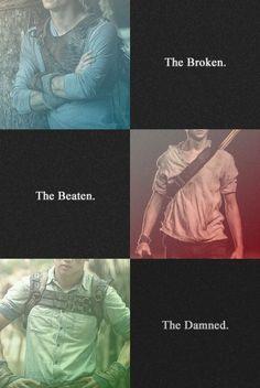Thomas, Newt, Minho