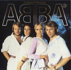 ABBA.  My dad loved Abba and when we went on road trips with the fam we listened to Abba, Kenny Rogers, Buddy Holly, and the Beach Boys NON STOP.