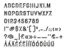 Typography 3 UTOPIA TYPEFACE - Alfio Mazzei