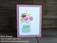 Creation Station Blog Hop: Gifts from the Garden (The Creativity Cave)