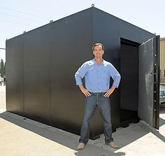 Storm Shelters, Tornado Shelters, Hurrican Shelters, Modular Steel Shelters, Panic Rooms manufactured in USA by Pentagon Safes and Vault Doors Small Gun Safe, Hidden Safe, Tactical Survival, Survival Shelter, Tornado Safe Room, Gun Safe Room, Hidden Gun Cabinets, Modular Home Plans, Underground Shelter
