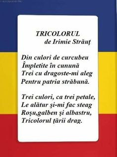 Romania Five Senses Preschool, Kindergarten Activities, 1 Decembrie, Kids Poems, Moldova, Early Education, Spring Crafts, Romania, Classroom