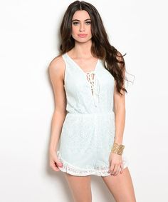 Designed for fit. Loved for style, Abbie Lace Romper - Beauty Blush Lace Romper  #Jumpsuits #LaceRomper #LaceDress