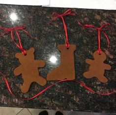 magical mama blog cinnamon applesauce ornaments ribbon christmas tree