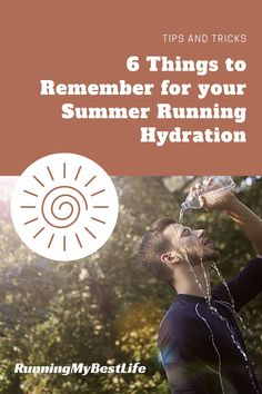 Hydration is always important for runners in every season, but we tend to lose a LOT more water through sweat while running in the summer heat. Thus, it can be a little more difficult to stay on top of hydrating enough—especially on longer runs. #runningtips #hydration #summerrunning
