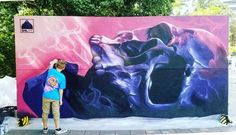 @street.art.club Reposted from @street_art_community Like, Share and follow who would love this art!