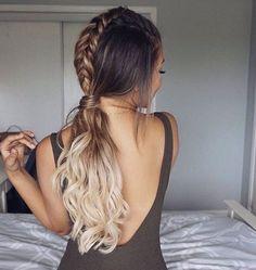 Pretty braid hair