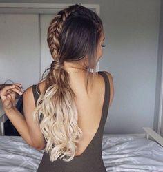 Pretty braid hair