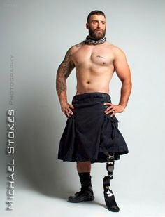 Wounded Veterans Bear All in Photographer's Bold New Book