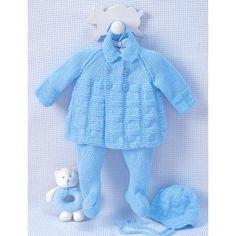 Intermediate Baby's Garment Knit Pattern