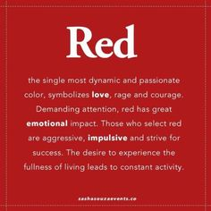 Color Inspiration} Red All Red Red quotes, Red meaning, Red red color quotes - Red Things Green Color Meaning, Green Colors, Red Color, Meaning Of Red, Wallpaper Bonitos, Red Quotes, Color Quotes, Red Dress Quotes, Life Quotes