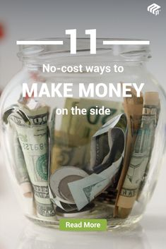 These 11 side hustles are the perfect way to make extra money Make Side Money, Ways To Earn Money, Earn Money From Home, Money Tips, Money Saving Tips, Way To Make Money, Show Me The Money, Savings Plan, Budgeting Money