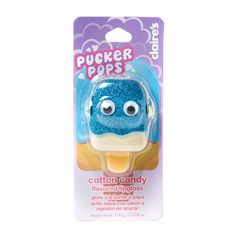 Pucker Pops Cotton Candy Flavored Lip Gloss   Claire's