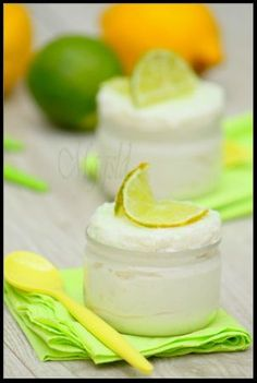 (Mousse au citron vert.) Check out this French foodie blog  - utterly fabulous!!!  Only prob is that you need to scroll through or search for title in blog for each recipe and you will need to translate from French.