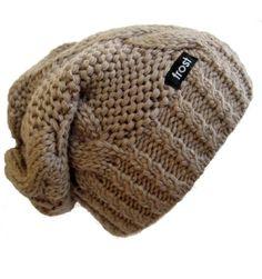 Frost Hats Winter Hat for Women Slouchy Beanie Hat Knitted Winter Hat Frost Hats (Light Brown) Frost Hats