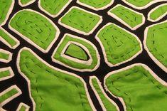 Textile Arts Now: Mola tutorial 06: A three-layer Mola: The reverse applique technique